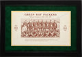 Football Collectibles:Photos, 1932 Arnie Herber Signed Wadhams Stiller Photograph Green Bay Packers Premium....