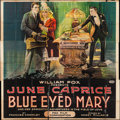 "Movie Posters:Drama, Blue-Eyed Mary (Fox, 1918). Folded, Very Good/Fine. Six Sheet (81"" X 81""). Drama.. ..."