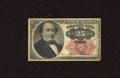 Fractional Currency:Fifth Issue, Fr. 1308 25c Fifth Issue About Uncirculated. The only fold is a lateral one on this Fractional that spent time mounted in su...