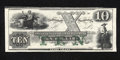Obsoletes By State:Rhode Island, Newport, RI- New England Commercial Bank $10 18__. The ABC monogram is found on this variety. Choice About Uncirculated....