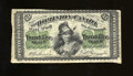 Canadian Currency:Series 472, DC-1b 25¢ 1870. This bright large Series B variety displays a couple of edge nicks. Very Fine. ...