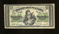 Canadian Currency:Series 472, DC-1c 25¢ 1870. Solid edges and some soiling are found on this no series letter variety. Very Fine. ...