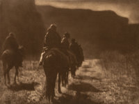 Edward Sheriff Curtis (American, 1868-1952) The North American Indian, Portfolio 1 (Complete with 39 works), 1903-1907...