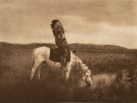 Edward Sheriff Curtis (American, 1868-1952) The North American Indian, Portfolio 3 (Complete with 36 works), 1905-1908...