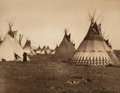 Photographs:Photogravure, Edward Sheriff Curtis (American, 1868-1952). The North American Indian, Portfolio 6 (Complete with 36 works), 1900-1910...