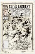 Original Comic Art:Covers, Gene Colan and Joe Rubenstein Clive Barker's The Harrowers #3 Cover Original Art (Marvel, 1994)....