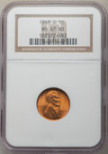 Lincoln Cents: , 1948-S 1C MS67 Red NGC. NGC Census: (593/0). PCGS Population: (289/0). CDN: $85 Whsle. Bid for problem-free NGC/PCGS MS67. ...