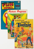 Golden Age (1938-1955):Miscellaneous, Golden to Silver Age Miscellaneous Comics Group of 10 (Various Publishers, 1950s-60s).... (Total: 10 Comic Books)