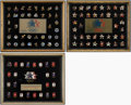 Olympic Collectibles:Autographs, 1984 Olympic Pin Limited Edition Framed Displays Lot of 3 - Series 1-3.... (Total: 3 items)