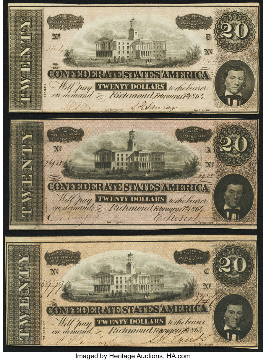 1864 Issues - Currency for sale on Collectors Corner