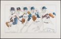 Autographs:Others, Nolan Ryan Signed Lithograph. ...