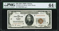 Fr. 1870-F $20 1929 Federal Reserve Bank Note. PMG Choice Uncirculated 64 EPQ