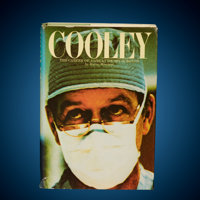 Denton Cooley Signed Book Harry Minetree Cooley: The Career of a Great Heart Surgeon</