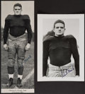 Autographs:Photos, Clint Frank Signed Image Lot of 2....