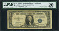 Inverted Star in Left Serial Number Error Fr. 1616* $1 1935G No Motto Silver Certificate Star. PMG Very Fine 20