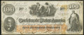 Confederate Notes:1862 Issues, CT41/316C $100 1862 Counterfeit Very Fine.. ...
