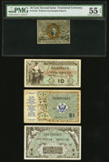Fractional Currency:Second Issue, A Fractional and Three MPCs. ... (Total: 4 notes)