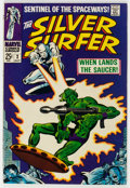 Silver Age (1956-1969):Superhero, The Silver Surfer #2 (Marvel, 1968) Condition: FN/VF....