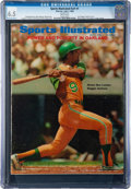 Baseball Collectibles:Publications, 1969 Reggie Jackson Sports Illustrated Magazine CGC 6.5 - First SI Cover!...