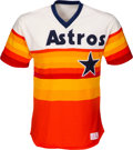 Baseball Collectibles:Uniforms, 1984-85 Nolan Ryan Game Worn & Signed Houston Astros Jersey, MEARS A10. ...