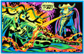 "Memorabilia:Comic-Related, Marvel Psychedelic Black Light Poster #4010 ""The Resurrection of Hela"" (The Third Eye, 1971)...."