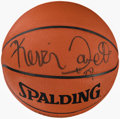 Autographs:Others, Kevin Garnett Signed Basketball. ...