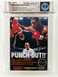 Video Games:Nintendo, Mike Tyson's Punch-Out!! [Third Version, Includes Letter] Wata 7.5 CIB (Complete in Box) NES, Nintendo, 1987, USA....