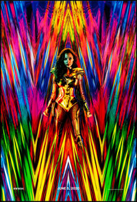 """Wonder Woman 1984 (Warner Brothers, 2020). Rolled, Very Fine/Near Mint. One Sheet (27"""" X 40"""") DS Teaser. Actio..."""