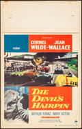 "Movie Posters:Action, The Devil's Hairpin (Paramount, 1957). Fine/Very Fine. Window Card (14"" X 22""). Action.. ..."