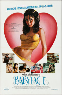 """Babyface (SRC Films, 1977). Flat Folded, Overall: Very Fine-. One Sheets (Approx. 176) Identical (27"""" X 41"""")..."""