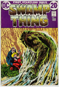Bronze Age (1970-1979):Horror, Swamp Thing #1 (DC, 1972) Condition: FN-....