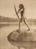 Photographs:Photogravure, Edward Sheriff Curtis (American, 1868-1952). The North American Indian, Portfolio 11 (Complete with 36 works), 1915. Pho...