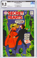 Silver Age (1956-1969):Romance, Secret Hearts #129 Murphy Anderson File Copy (DC, 1968) CGC NM- 9.2 Off-white pages....
