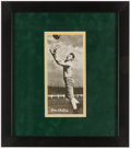 Autographs:Photos, Don Hutson Signed & Framed Vintage Photograph - Image Used for 1955 Topps All-American Rookie Card....