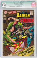 Silver Age (1956-1969):Superhero, The Brave and the Bold #80 Batman and The Creeper (DC, 1968) CGC Qualified NM 9.4 White pages....