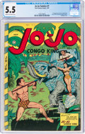 Golden Age (1938-1955):Adventure, Jo-Jo Comics #7 (Fox Features Syndicate, 1947) CGC FN- 5.5 Cream to off-white pages....