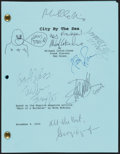 Miscellaneous Collectibles:General, 2000 City by the Sea Multi-Signed Script with De Niro & Franco....
