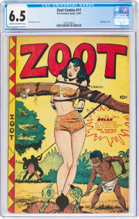 Zoot Comics #11 (Fox Features Syndicate, 1947) CGC FN+ 6.5 Cream to off-white pages