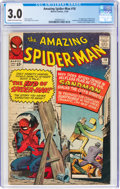 Silver Age (1956-1969):Superhero, The Amazing Spider-Man #18 (Marvel, 1964) CGC GD/VG 3.0 Cream to off-white pages....