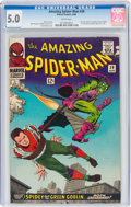 Silver Age (1956-1969):Superhero, The Amazing Spider-Man #39 (Marvel, 1966) CGC VG/FN 5.0 White pages....