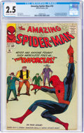 Silver Age (1956-1969):Superhero, The Amazing Spider-Man #10 (Marvel, 1964) CGC GD+ 2.5 Off-white to white pages....