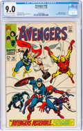 Silver Age (1956-1969):Superhero, The Avengers #58 (Marvel, 1968) CGC VF/NM 9.0 Off-white to white pages....