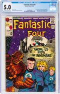 Silver Age (1956-1969):Superhero, Fantastic Four #45 (Marvel, 1965) CGC VG/FN 5.0 Off-white to white pages....