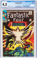 Silver Age (1956-1969):Superhero, Fantastic Four #53 (Marvel, 1966) CGC VG+ 4.5 Off-white to white pages....