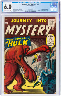 Journey Into Mystery #62 (Atlas, 1960) CGC FN 6.0 Off-white to white pages
