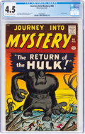 Silver Age (1956-1969):Horror, Journey Into Mystery #66 (Atlas, 1961) CGC VG+ 4.5 Off-white to white pages....