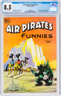 Air Pirates Funnies #2 (Hell Comics Group, 1971) CGC VF+ 8.5 Off-white to white pages
