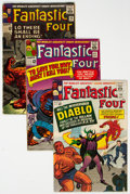 Silver Age (1956-1969):Superhero, Fantastic Four Group of 7 (Marvel, 1964-70) Condition: Average GD/VG.... (Total: 7 Comic Books)