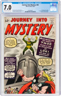 Silver Age (1956-1969):Superhero, Journey Into Mystery #85 (Marvel, 1962) CGC FN/VF 7.0 Off-white to white pages....