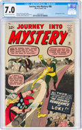 Silver Age (1956-1969):Superhero, Journey Into Mystery #88 (Marvel, 1963) CGC FN/VF 7.0 Cream to off-white pages....